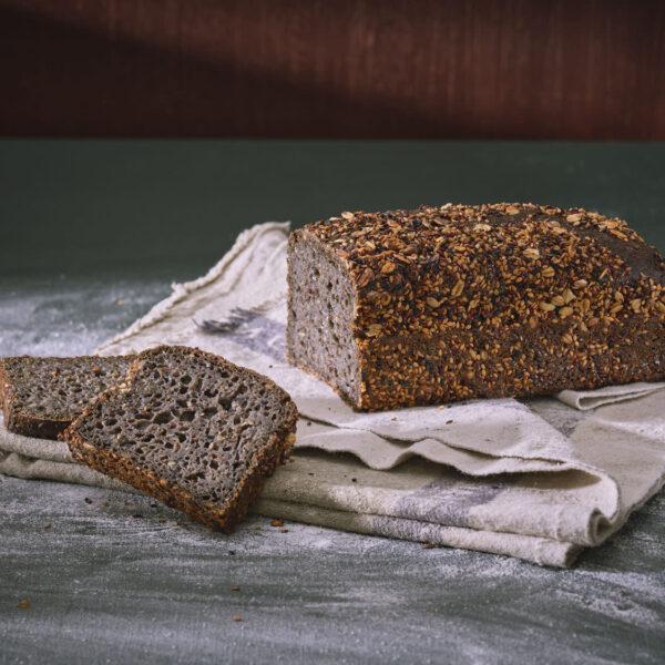 לחם סקנדיבני כהה