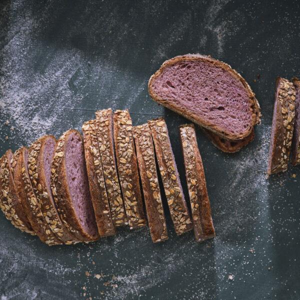 לחם בטטה סגולה